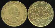 KENYA 10 cent 1987