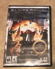 Saints Row IV 4 National Treasure Edition PC DVD Rom Game NEW factory sealed