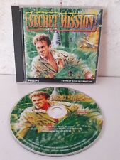 Secret Mission - Complete Game - Philips cdi - CD Interactive