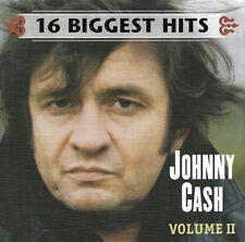 Johnny Cash: 16 Biggest Hits Volume II - CD (2001)