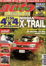 REVUE 4X4 AUTO VERTE N°236 JANVIER 2001 NISSAN X-TRAIL FORD CHEVROLET FREELANDER