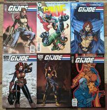 GI Joe Comic variant cover lot of 6 comics featuring Scarlett! Dixon+Dark Horse