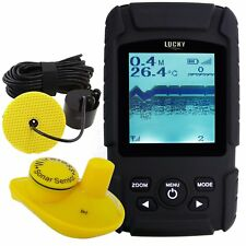 2-in-1 Fish Finder Sonar Transducer 328ft /100m Wired & Wireless Sensor Amateur