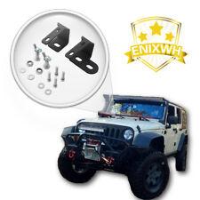 Off Road Jack Mount Hood Bracket Fit 2007-2017 Jeep Wrangler JK Hood