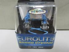 NEW PAIR Eurolite H3 Xenon Crystal Headlight / Headlamp / Foglight Bulbs  H3LXC
