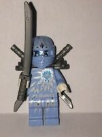 Lego NRG Zane Pale Blue Ninja from set 9590 Ninjago Minifigure BRAND NEW njo069