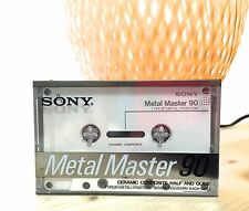 Sony Metal Master Cassette tape Audio 90 min Blank Sealed  Ceramic Composite MIJ