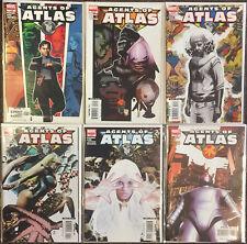Agents of Atlas # 1 2 3 4 5 6 Marvel Comics Complete Set Nm