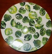 """EMMA BRIDGEWATER SPROUTS  8.5""""  CHRISTMAS  PLATE  NEW"""