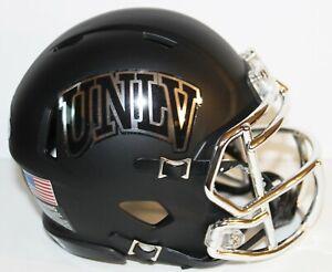 2020 UNLV Runnin Rebels Custom Riddell Mini Helmet vs Fresno State