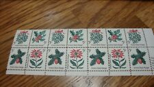 "US Scott #1254 ""CHRISTMAS "" sheet 14 stamps-5 cent face 1963 MINT"