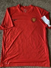 Nike Manchester united Soccer Training Jersey Size L