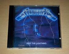 METALLICA - Ride The Lightning CD 1989 Argentina Press VERTIGO ++ RARE ++