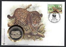 Belize - 1992 WWF Jaguar Panthera Onca Coin Cover
