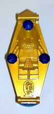 LEGO Egypt Gold & Dark Blue Coffin Sarcophagus + Extras New for Mummy Skeleton