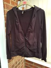 Super Goldigga Brown Hooded Top, Cotton Blend, Size 10, VGC