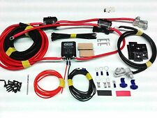 3mtr 12V Split Charge Kit System 100amp Heavy Duty Relay with Ready Made Leads
