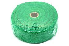 "FIBRE GLASS HEAT WRAP PROTECTION TAPE ,2"" WIDTH, 1.5MM LENGTH 10M  500C GREEN"