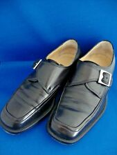 Bally Switzerland Mens Black Shoes Style Flex 'Ronne' Size 5E