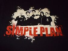 Simple Plan Signed Tour Shirt ( Used Size Xl ) Good Condition!
