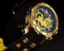 Invicta Mens Pro Diver Scuba 3.0 Chronograph Pine Green Dial Black Strap Watch!!