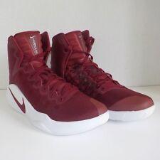 1ba919f0515 Nike Hyperdunk 2016 TB High Basketball Shoes RED WHITE 844391 661 Woman Size  9
