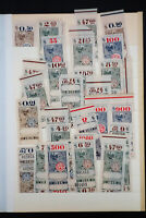 Worldwide 1916 Revenue Stamp Collection