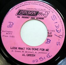 AL GREEN 45 Look What You Done For Me VG++ Soul JA PRESS London c1469