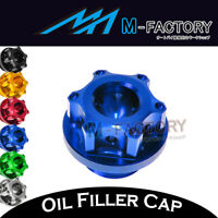 CNC Billet Rudder Oil Filler Cap Plug Fit Kawasaki Z650 2017 17