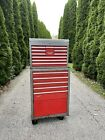 CRAFTSMAN+USA+RED+%26+GRAY+ROLLING+CABINET+%26+TOOL+CHEST+BOX+VINTAGE+Clean+RARE+%21