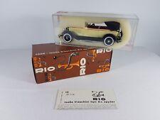 Rio Isotta Fraschini 8 A Spyder #15 - 1926 - 1:43 Escala Modelo