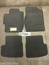 2004-2008 SOLARA CONVERTIBLE CARPET FLOOR MATS CHARCOAL GRAY-GENUINE TOYOTA