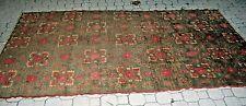"Vintage Antique Khotan Kashgar Yarkand Oriental Rug 5' x 8' 9"""