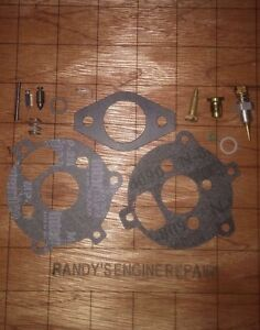 Briggs & Stratton Carburetor Kit 291763 295938 394693 Carb Rebuild 7 & 8 HP