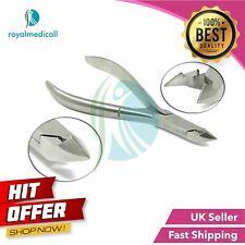 """Nail art cuticle nipper cutter clipper manicure pedicure stainless steel tool 4"""""""