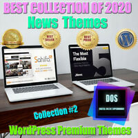 The Best News WordPress Themes in 2020. Collection#2