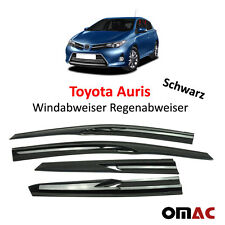 Windabweiser Regenabweiser  für Toyota Auris II  4 tlg Schwarz 2013-2017