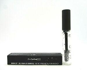 Mac Brow Set Gel ~ Clear ~ .28 oz ~ BNIB