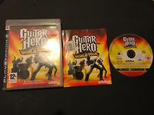 Guitar Hero World Tour Play Station 3 PS3 PAL ESPAÑOL