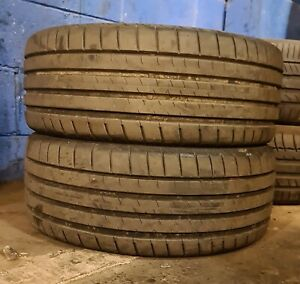 X2 Matching Pair Of 225/45/17 Bridgestone Potenza Sport 94Y Tyres