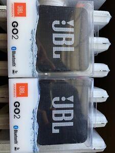 JBL Go 2 Bluetooth Waterproof Portable Speaker - Black