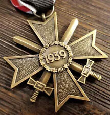 WWIl WW2 German War Merit Cross Bronze 1939 Veterans award medal KVK