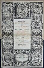LYON CARDON & CAVELLAT 1622 Titre Frontispice par Claude AUDRAN In-Folio