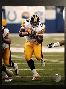 JEROME BETTIS  2005 PLAYOFF GAME 8X10 ACTION PHOTO Pittsburgh Steelers