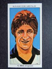 LE SOLEIL soccercards 1978-79 - Gordon Hill - ANGLETERRE #80