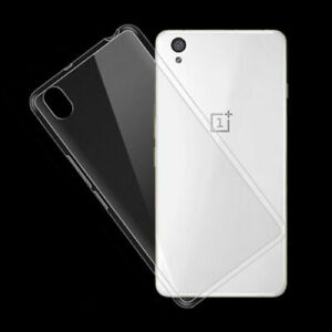 Case for ONE PLUS X TPU Gel Clear Shockproof + Free Screen Protector!