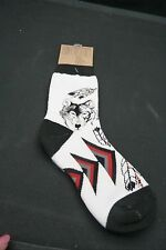WILD HAB-ITAT CHILDS  SOCKS …. WOLF, FEATHERS & NATIVE INDIAN…4-7 YR