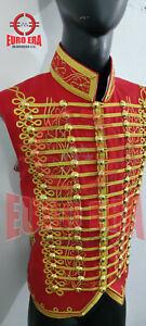 Napoleonic Light Cavalry Senior Officer Hussars Waistcoat Vest In All Sizes