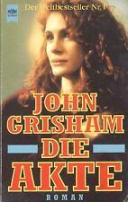 """""""Die Akte"""" - John Grisham - Krimi / Thriller  (Roman)"""