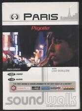 NEUF DVD + CD PARIS PIGALLE SOUNDWALK WITH LOU DOILLON guides audio et vidéo